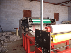 Single Use Paper Roll Printing Machine