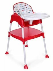 Plastic Boy And Girl Baby High Chair