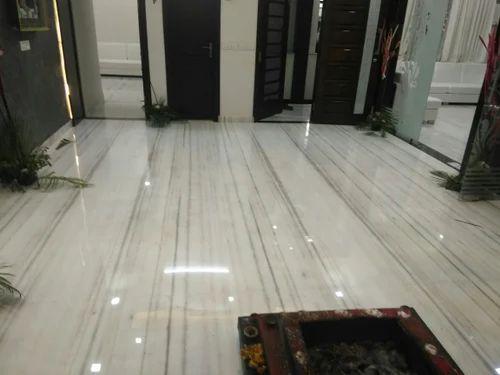 Makrana Marble Flooring, संगमरमर की फ्लोरिंग - Bhutra Marble & Granites,  Kishangarh | ID: 15832966397