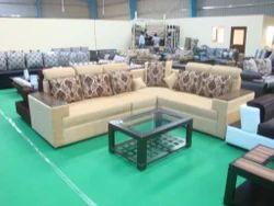 Cream Four Square Sofa