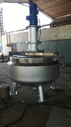 MS Jacketed Open Top Reactor