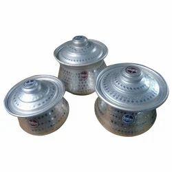 Aluminum Handi with Cover