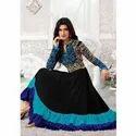 Designer Black & Blue Ladies Suit