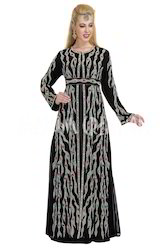 Elegant Caftan Dress By Maxim Creation