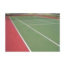 Tennis Court Flooring, Thickness: 2mm - 8mm