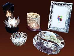 German Silver Gifts - Tea Light Stand