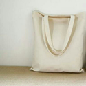 "Plain Cotton Bags, Size: 12"" X 15"""
