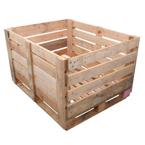Light Brown Wooden Box, For Storage