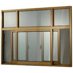 Designer Aluminum Sliding Window