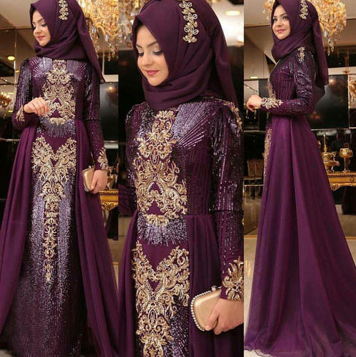 Embroidered Muslim Wedding Dress at Rs 3445 /piece | Muslim Dress ...