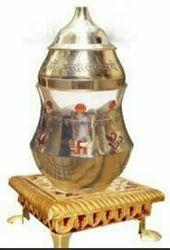 Diya Golden Divya Jyoti Deep, Finish Type: Gold Coating