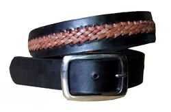 Handmade Leather Braided Belt
