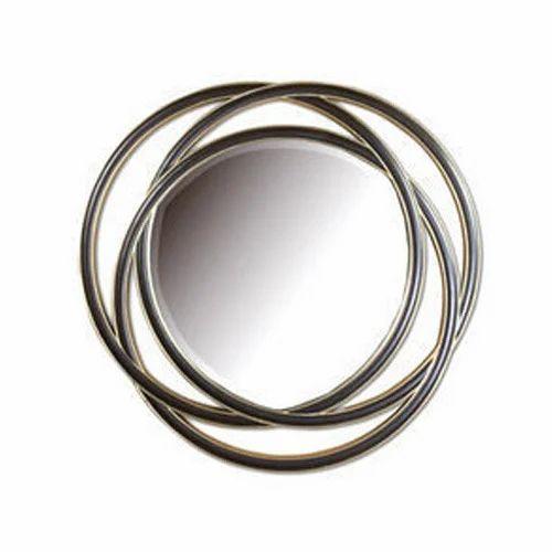 Wooden Fancy Mirror Frame Lakdi Ka Darpan Frame Aura Creation