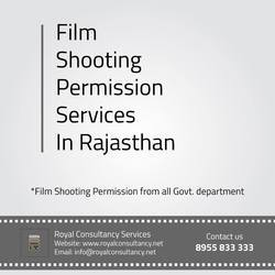 Film Shooting Permission Services in Rajasthan