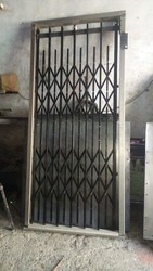 Side opening Steel Swing And Side Open Elevator Collapsible Gate, for Commercial