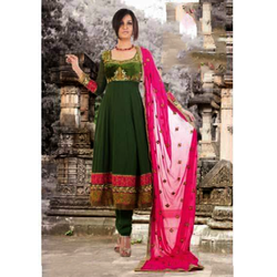 3ee4b5d7d9 Designer Anarkali Suit - Manufacturers & Suppliers in India