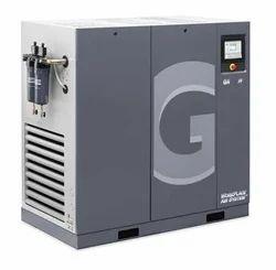 Stationary Lubricated Screw Air Compressor