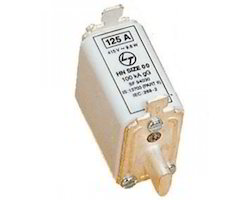 DIN Type Fuse Links Type HN 125 AMP L&T