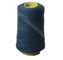 Blue Polyester Wool Blend Yarn, For Garments