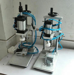 Semi Automatic Pneumatically Operated Collar Filling Machine