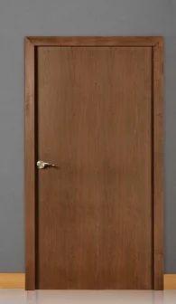 Plain Wood Finish Door