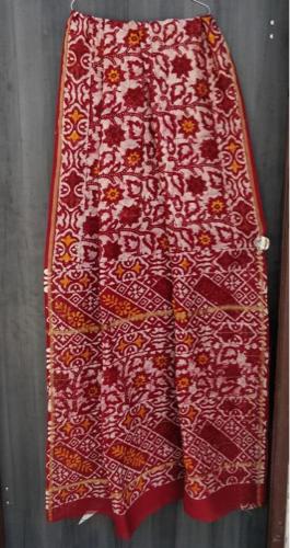 Chanderi Silk Saree, 6.3 m (with blouse piece)