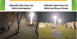 Portable Inflatable Emergency Lighting System