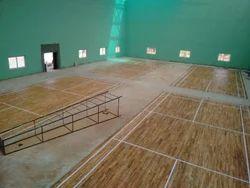 Badminton Teak Wooden Flooring