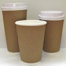 Ripple Paper Cup, For Event and Party Supplies