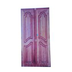 Teak Wood Double Fancy Door