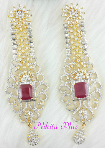 American Diamond Earring Jewellery