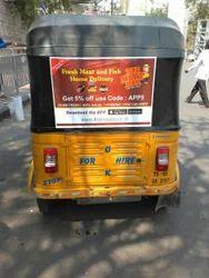 Auto Rickshaw Branding Services