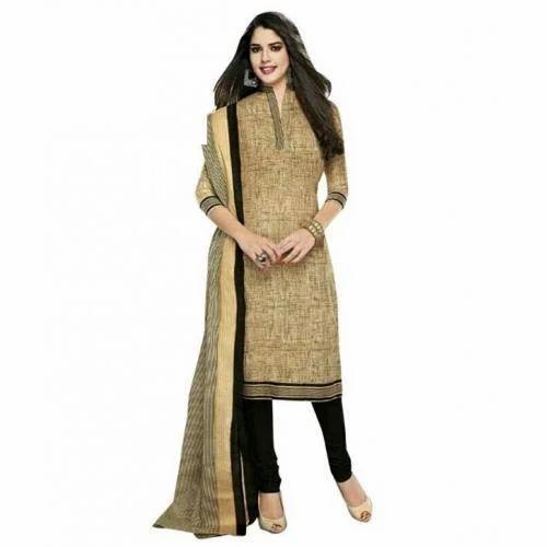 Ladies Khadi Dress Material Khadi Cotton Dress Material