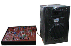 PA ( Public Address ) Amplifier Trainer Model