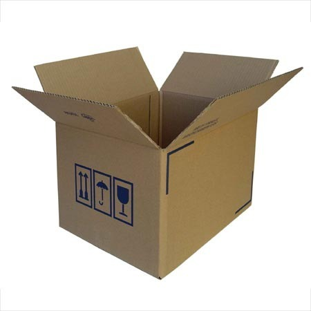 Kraft 5 Ply Corrugated Boxes, GSM: 150/120/100