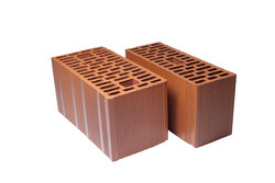 Vertically Perforated Clay Bricks