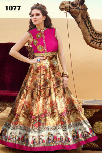 Spacial Wedding And Festival Gowns, Ladies Gown Suit, Ladies Ka Gown ...