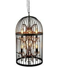 Hanging  Wire Bird Cage
