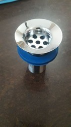 Silver Stainless Steel CP Waste Coupling, For Hotel, Kitchen etc, Packaging Type: Box