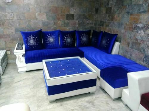 Royal Blue Designer Sofa