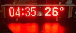 Temperature GPS LED Clock