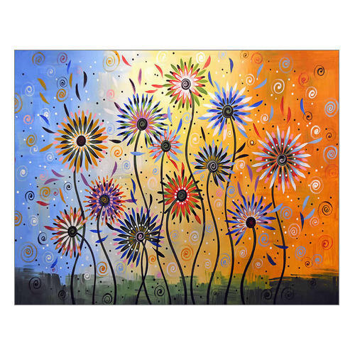 Canvas Painting At Rs 100 Square Feet