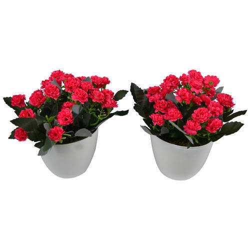 artificial flower pots for inside, sajavati phooldan - the fancy