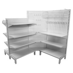 Corner Supermarket Display Rack