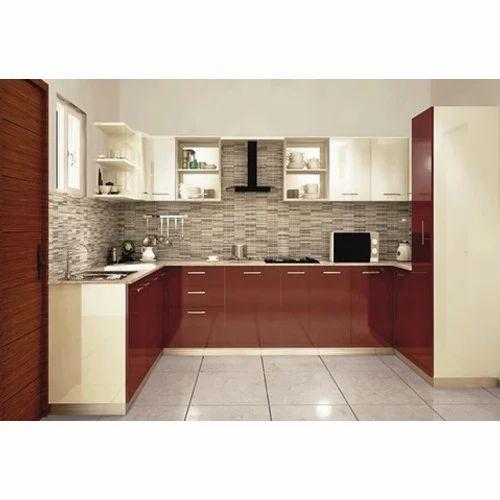 Residential Modular Kitchen Designing Services In Indira
