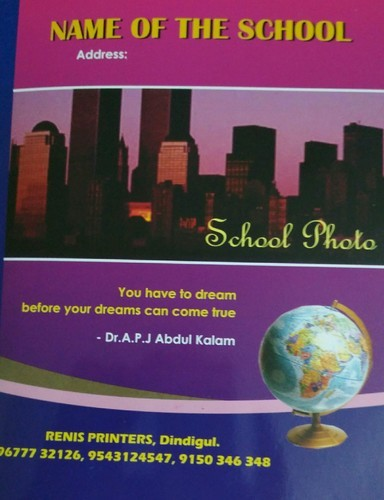 Copy Writing Note Books In Tamil, English And Hindi