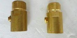 Brass 150Bar Soda Maker Cylinder Valve, Valve Size: 3 Inch