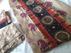 Party Wear Machi Work ( Khatla Work) Kutchi Dress Material