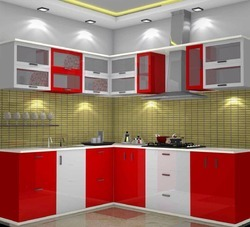 Modular Kitchens In Kanpur Uttar Pradesh Modern