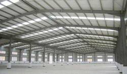 MS Prefabricated Factory Shed